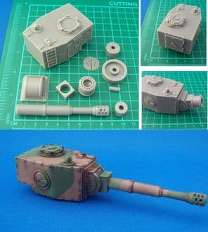 1x Tinnelon Pattern Tank Turret Kit