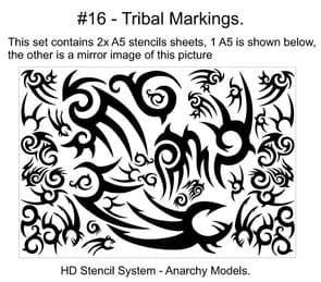 HD16 - Tribal Markings