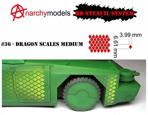 HD36 - Dragon Scales - Medium