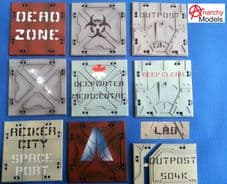 HD40 - Deadzone Logos And Signage - 1
