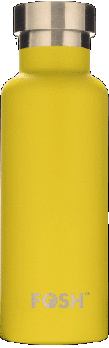 Yellow Insulated S/Steel Bottle