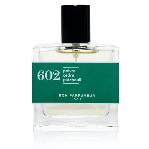 602 (pepper, cedar and patchouli​​​​​​​)
