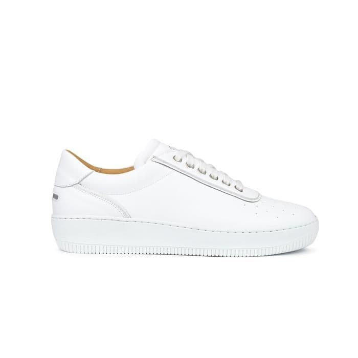 CLEMENT LEATHER - TONAL WHITE
