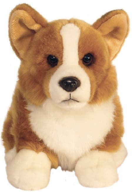 Corgi, Queens Dog gift wrapped or not with or without engraved tag