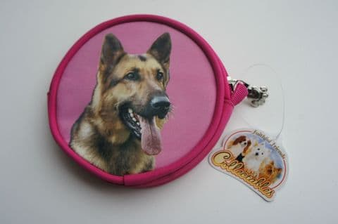 GERMAN SHEPHERD COIN PURSE IDEAL GIFT FOR DOG LOVERS