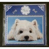 GREETINGS CARD hand made with dog photo any breed available