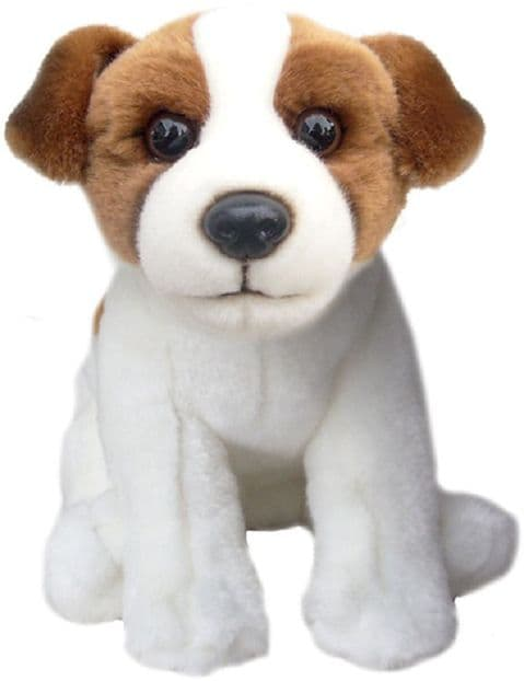 """Jack Russell Terrier Toy Dog Quality Realistic12"""" Soft Toy Dog"""