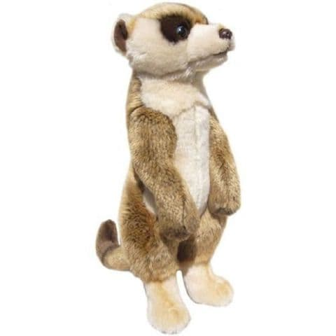 Meerkat, gift wrapped, not gift wrapped with or not engraved tag cuddly toy