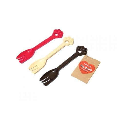 Pet food fork pack of two