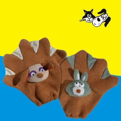PET WASH GLOVE DOG CAT RABBIT BATHING MIT SOFT AND WASHABLE DOG SHAMPOO GLOVE