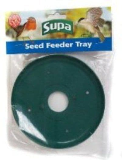 SEED FEEDER TRAY TO FIT MOST SUPA PLASTIC BASED WILD BIRD SEED FEEDERS