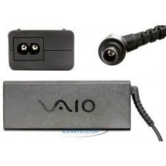 New Sony Ac Adapter 19.5v 4.74a 90W 6.5 x 4.4mm (SONC474) Sony Vaio Pcg Series Laptop Ac Adapters
