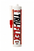 Delta High Temp RTV Silicone Sealant Black D212 (300ml)