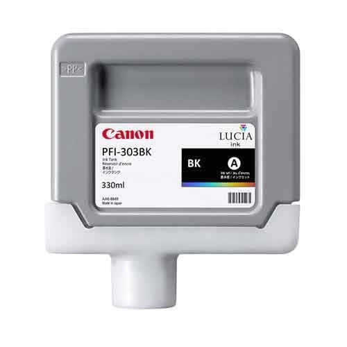 Canon PFI-303BK Black Ink Cartridge 330ml