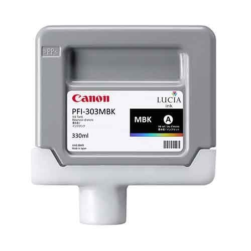Canon PFI-303MBK Matte Black Ink Cartridge 330ml