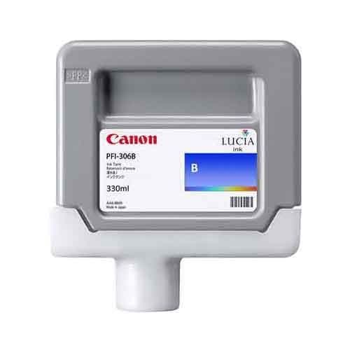 Canon PFI-306B Blue Ink Cartridge 330ml