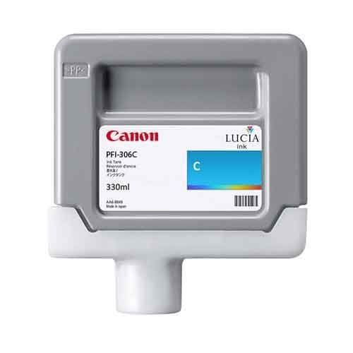 Canon PFI-306C Cyan Ink Cartridge 330ml