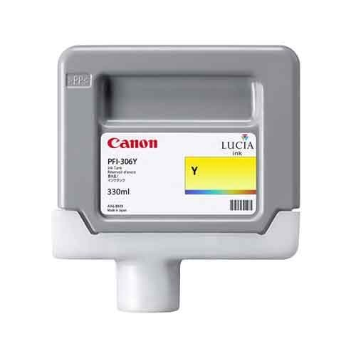 Canon PFI-306Y Yellow Ink Cartridge 330ml