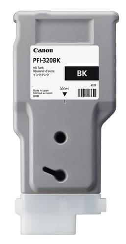 Canon TM-200 Black Ink Cartridge - Canon PFI-320bk 300ml Ink Tank