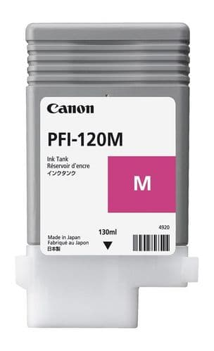 Canon TM-200 Magenta Ink Cartridge - Canon PFI-120m 130ml Ink Tank