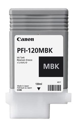 Canon TM-200 Matte Black Ink Cartridge - Canon PFI-120mbk 130ml Ink Tank