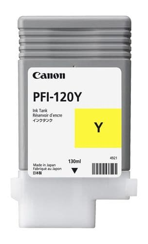 Canon TM-200 Yellow Ink Cartridge - Canon PFI-120y 130ml Ink Tank