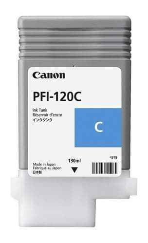 Canon PFI-120C Cyan Ink Cartridge 130ml