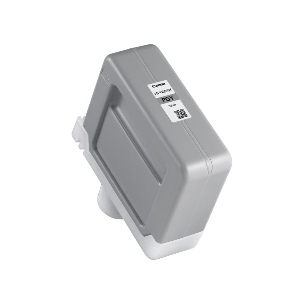 Canon PFI-1300PGY Photo Grey Ink Cartridge 330ml - Genuine Canon PFI-1300PGY Ink Tank Order Online Or Call 0800 970 2244