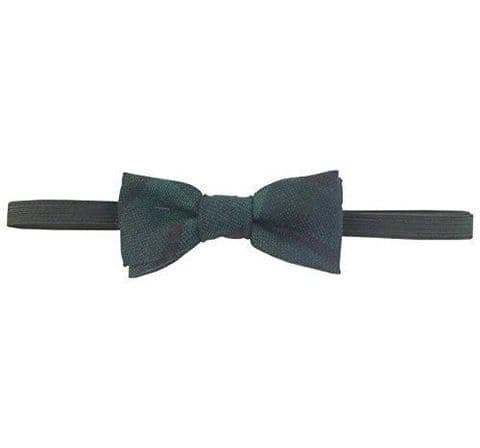 Boys Black Watch Pure Wool Bow Tie