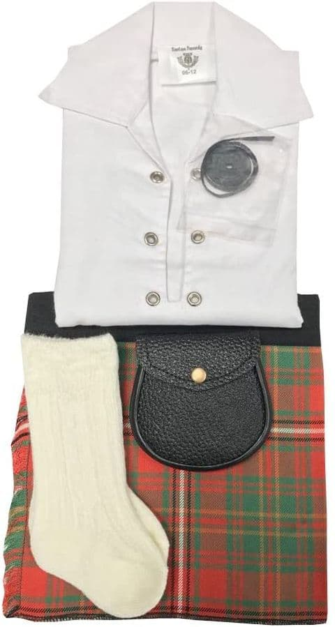 Hay Tartan Baby Kilt Outfit 0-24 Months