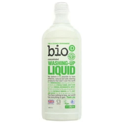 Bio D Washing Up Liquid Concentrated