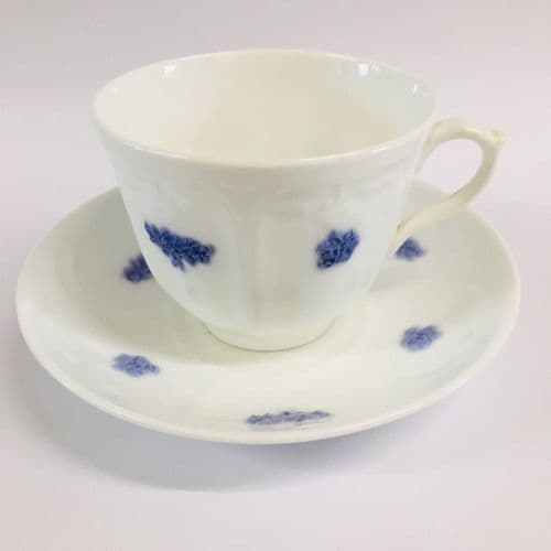 Adderley | Art Deco | Bone China Breakfast Cup and  Saucer | Lavender | 1930s