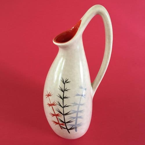 Crown Devon | Hand Painted Vase | 1950s