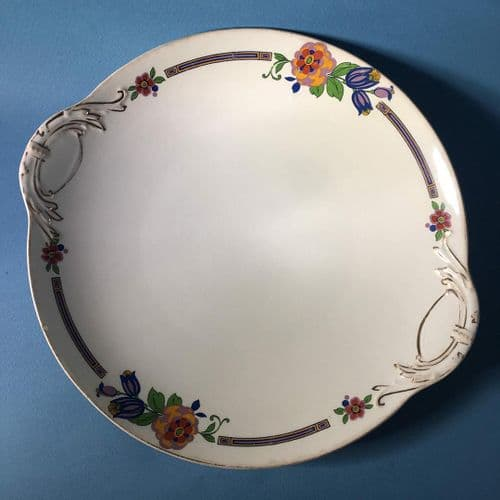 J and G Meakin | Cake Bread Plate x 2