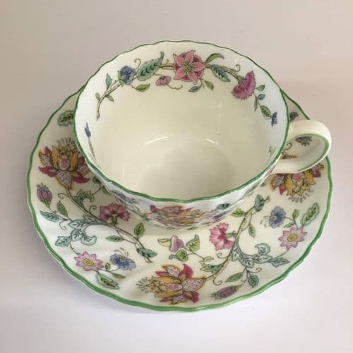 Minton | Haddon Hall | Cup and Saucer Duo