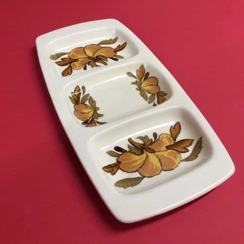 Royal Worcester Palissy | Kismet | Hors D'Oeuvres Dish