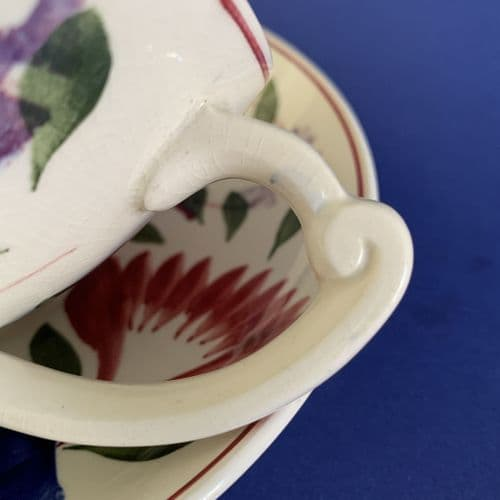 TG Green | Oakville | Jumbo Cup and Saucer Duo | 1930s
