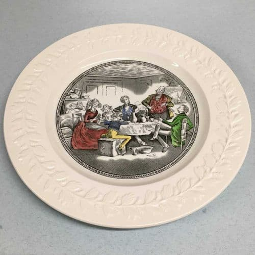 Wedgwood | Adams Ironstone Collection Plate | Charles Dickens Series
