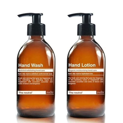 The Neutral - Earl Grey & Cucumber Hand Wash and Hand Lotion Twin pack