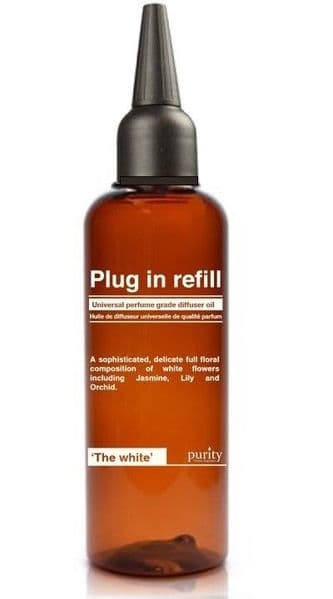 The White -Jasmine, Lily & Orchid - 100ml Universal Plug in refill
