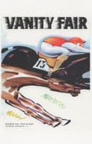 1930s Horse Race Grand National Style Hurdle Painting Postcard