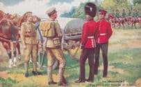1st Regiment Grenadier Guards Of Canada Gale & Polden War Postcard