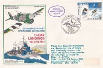 30th Anniversary D-Day Landings Operation Overlord Isle Of Wight Bembridge Airport FDC
