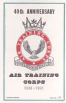 40th Anniversary Of The Air Training Corps Limited Edition Postcard