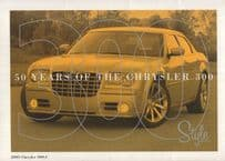 50 Years Of The Chrysler 300 Folding Postcard Photo Book