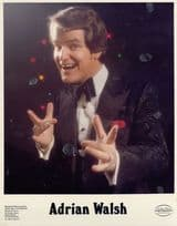 Adrian Walsh Irish Comedian Vintage 1980s Management Hand Signed Photo & MORE