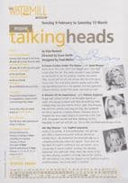 Alan Bennett BBC Play For Today More Talking Heads Janet Brown Hand Signed Flyer