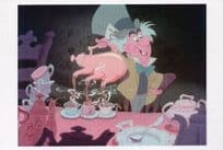 Alice In Wonderland Film Frame Mad Hatters Tea Party Postcard