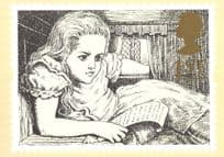 Alice In Wonderland of Book Rare PHQ Limited Edition Postcard