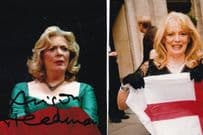 Alison Steadman Hand Signed Photo & St Georges Day Photograph